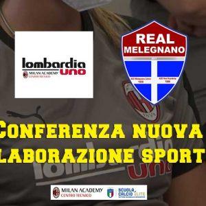 Lombardia Uno | Affitto Campi da Calcio, Calcetto, Beach Volley, Beach Tennis, Foot Volley e Paddle Padel a Milano | immagine video conferenza stampa Real Melegnano Riozzo