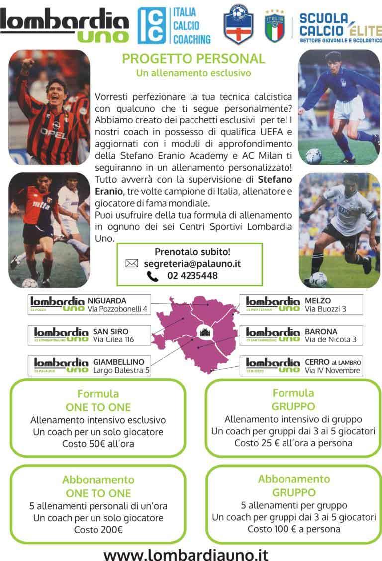 Lombardia Uno | Affitto Campi da Calcio, Calcetto, Beach Volley, Beach Tennis, Foot Volley e Paddle Padel a Milano | immagine allenamento individuale