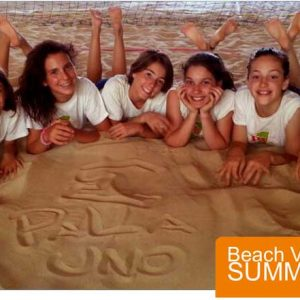 Lombardia Uno | Affitto Campi da Beach Volley, Beach Tennis, Foot Volley a Milano | immagine beach volley summer camp 2021